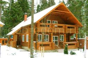 Образцы строительства деревянных домов и бань