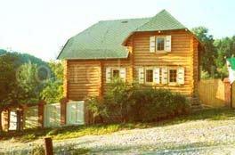 Рубленный дом 6,5х10